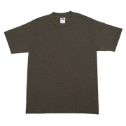AAA 1301 Adult Short Sleeve Tee (Brown Heather)