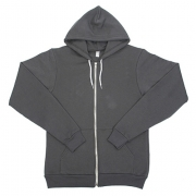 [American Apparel/아메리칸어패럴] F497 Flex Fleece Zip Hoody (Asphalt)