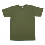 AAA 1701 Adult Short Sleeve Tee (Military Green)