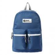 [디얼스] NYLON 2-POCKET BACKPACK-BLUE