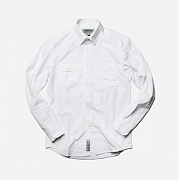 [프리즘웍스]overlap shirt _ white