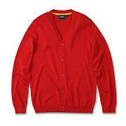위에스씨 (E4)Borik(mens knitted.lava red)