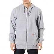 칼하트 미드웨이트 후드 집업 그레이(CARHARTT MIDWEIGHT HOODED ZIP-FRONT SWEATSHIRT GREY)