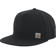 칼하트 ASHLAND 코튼 캔버스 스냅백 블랙 (CARHARTT ASHLAND FIRM COTTON CANVAS SNAPBACK BLK)