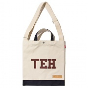 [디얼스] TEH CANVAS TOTE&CROSS BAG - NAVY