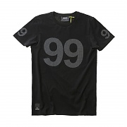 위에스씨 (F2)9 Dot 9 Tee(men′s S/S.black)