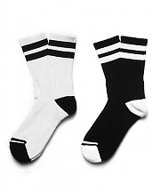 [1507] 2개 SET  스케이트삭스 STRIPE ATHLETIC SOCKS