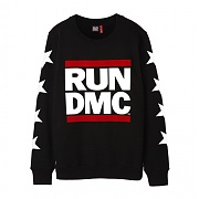 브라바도 RUNDMC LOGO STAR SWEATSHIRTS BLACK