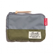 [디얼스] CB N CARD WALLET - GREY/OLIVE