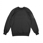 크룩스앤캐슬 Knit Crew Sweatshirt - Grand (Black)