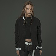 Arm Synthetic Leather Blouson