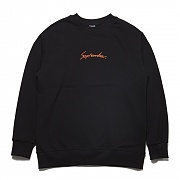 덕다이브 DUCKDIVE SEPTEMBER SWEAT SHIRTS BLACK