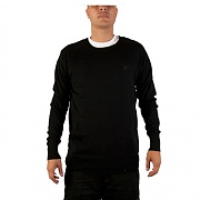 더 헌드레드 SOLID SWEATER (BLACK)
