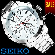 [세이코] SEIKO Chrono Metal Band (11677)