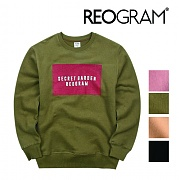 리오그램 REOGRAM - (기모) SECRET GARDEN SWEATSHIRTS (Khaki)B31