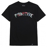 프리미티브 15 HO PRIMITIVE ORGANIC TYPE TEE BLACK