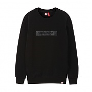 브라바도 RUNDMC MILITARY H-LOGO CREWNECK BLACK