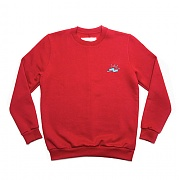 SlowMotion Crewneck Sweat Red