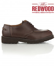 [REDWOOD]레드우드 Y팁 더비 슈즈 Y-tip derby shoes brown