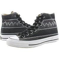 컨버스 X 스투시 척테일러 올스타 70 하이 블랙 (CHUCK TAYLOR ALL STAR 70 HI STUSSY BLACK/MAGNET/CHARCOAL GRAY)