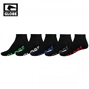 [글로브]STEALTH ANKLE SOCK 5 PACK (BLACK)