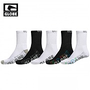[글로브]BOYS CALVIN CREW SOCK 5 PACK (ASSORTED)