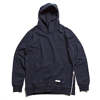 Popover Hoody With Side Z..