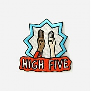 [모쿠요비] IRON-ON PATCHES (HIGH FIVE)