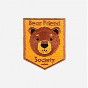 [모쿠요비] IRON-ON PATCHES (BEAR FRIEND SOCIETY)