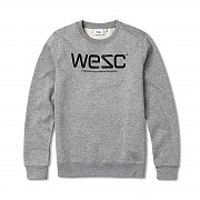 위에스씨 (G1)WeSC(men′s crewneck.grey melange)