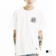 (단독가) 스니키챔프 SNCP005 Short Sleeve - black/white