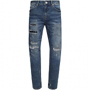 모디파이드 M0923 crush repaired crop jeans