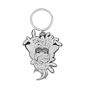 크룩스앤캐슬 CROOKS & CASTLES Keychain Bottle Opener - Medusa (Shiny Nickel)