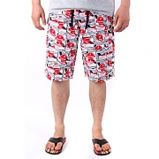 알타몬트 CRUSHED SWIM TRUNK X LIMITED BOARDSHORT (White)
