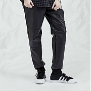 [DUCKDIVE] Coated panel jogger _ Black