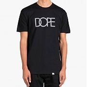 도프 Reflective Logo Tee (Black)