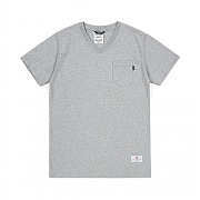 [스티그마]STIGMA BLIND V-NECK POCKET T-SHIRTS GREY