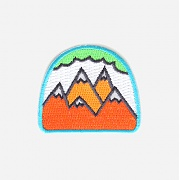 [모쿠요비] IRON-ON PATCHES (NEON MOUNTAINS)