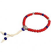 SP WHITEHEARTS BRACELET-RED