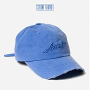 스턴트 STUNT Damaged Denim Logo Cap (Water Blue)