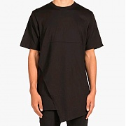 도프 Asymmetrical Tee (BLACK)
