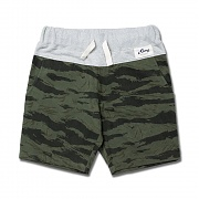 COMFORT short pants - tiger khaki