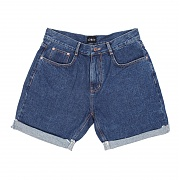ROLL UP DENIM SHORTS/DB