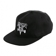 [트래셔] THRASHER SKATEGOAT WOOL BLEND SNAPBACK (BLACK)
