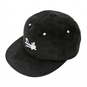 [드라이프] SUEDE 6 PANEL CAP-BLACK