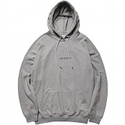 [모디파이드] M1028 over fit new hoodie (grey)