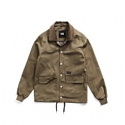 USF COLORING COACH JACKET OLIVE