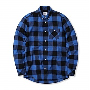위에스씨 (G4)Olavi(men′s L/S shirts.bright blue)