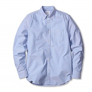 위에스씨 (00)Oden(men′s L/S shirts.polar blue)