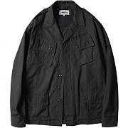 [모디파이드] M1031 jungle fatigue jacket (black)